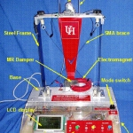 The smart vibration platform developed at University of Houston with funding from NSF.